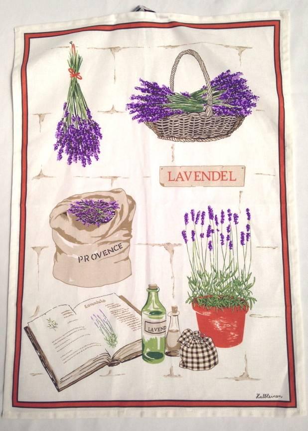 Tea Towel - Portugal, Lav Pots