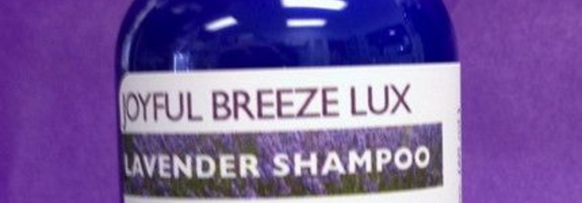 Joyful Breeze LUX Lavender Shampoo - 2 oz