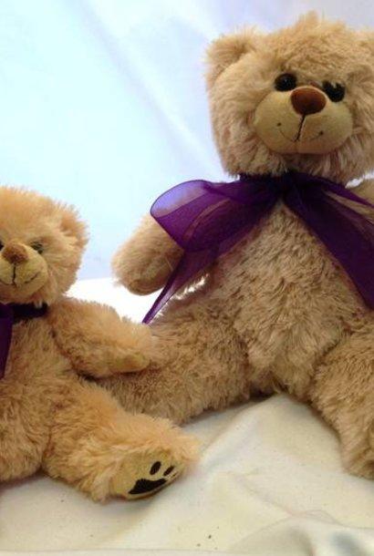 "Stuffed Bear, ""Furry"", 16"""
