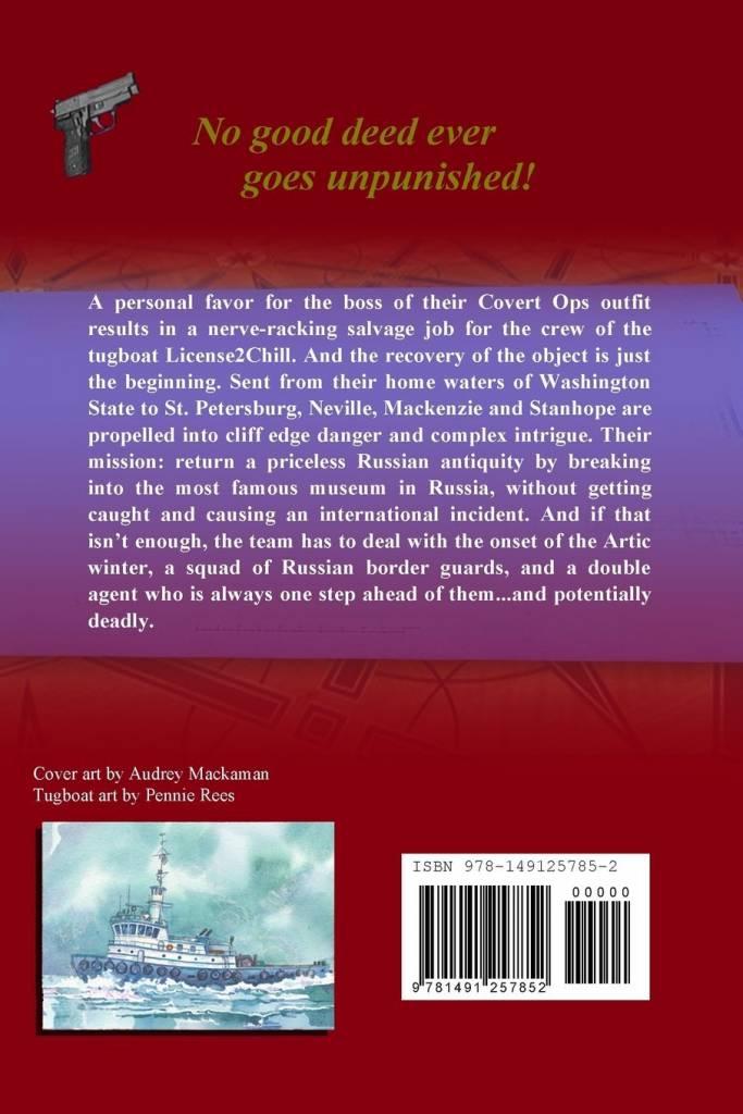 Book, Covert Ops 2: Take It Back, M. G. Chapman-2
