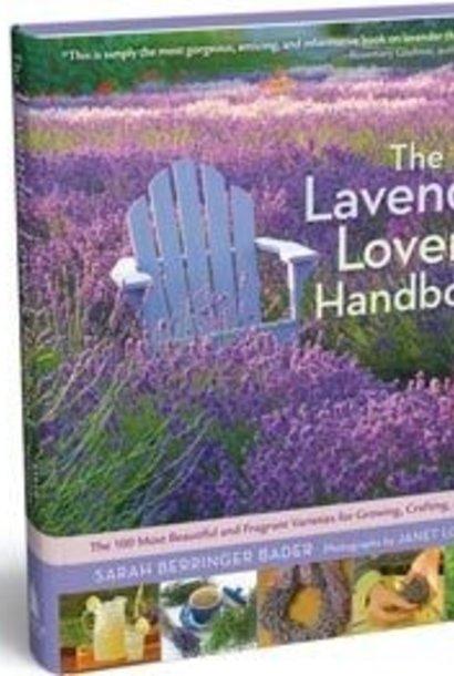 Book, Lavender Lover's Handbook, by Sarah Berringer Bader