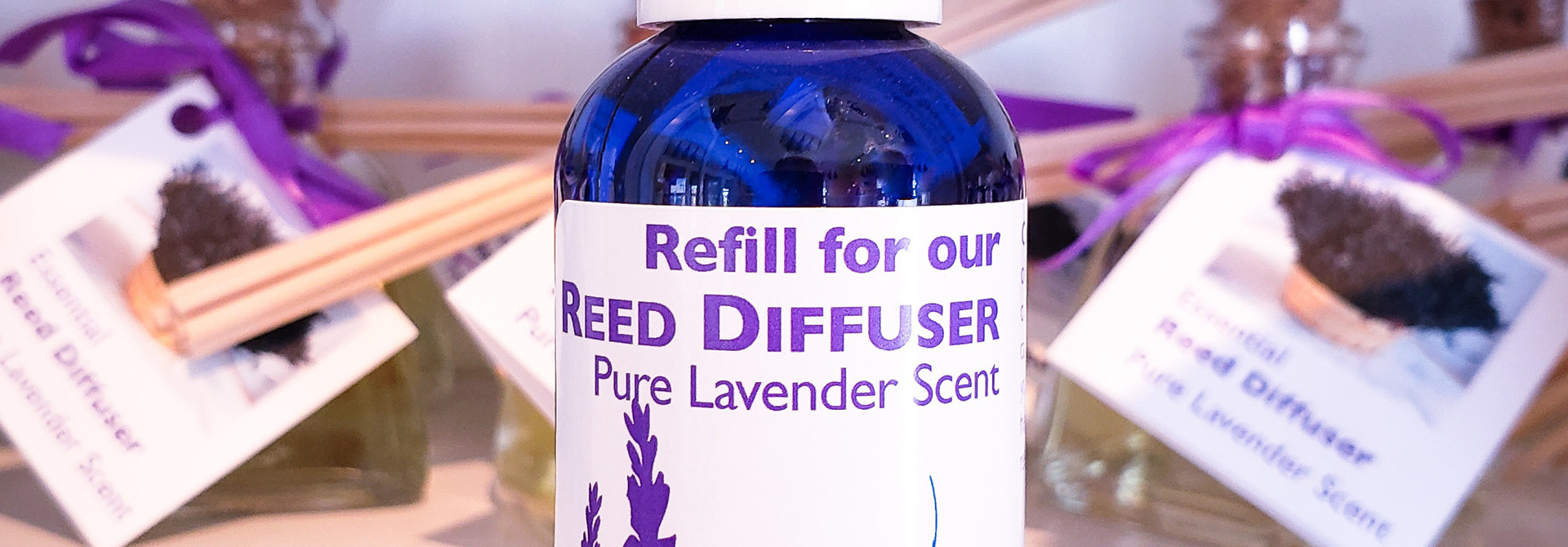 Essential Reed Diffuser - 2 oz REFILL Pure Lavender