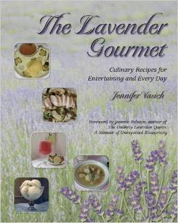 Book, The Lavender Gourmet by J. Vasich-1