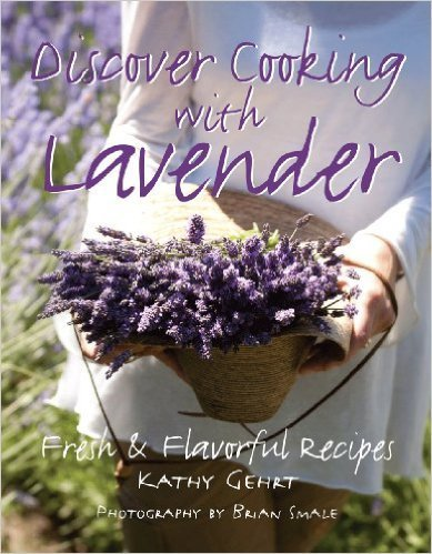 Book, Discover Cooking with Lavender
