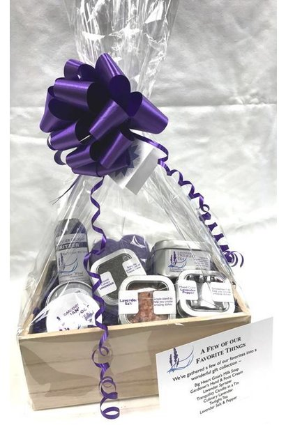 A Few of Our Favorite Things Lavender Gift Set