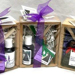 Lavender Wind Wood Gift Set - Diffuser
