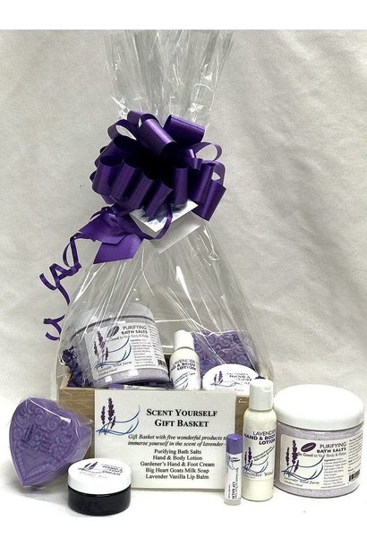 Scent yourself gift basket