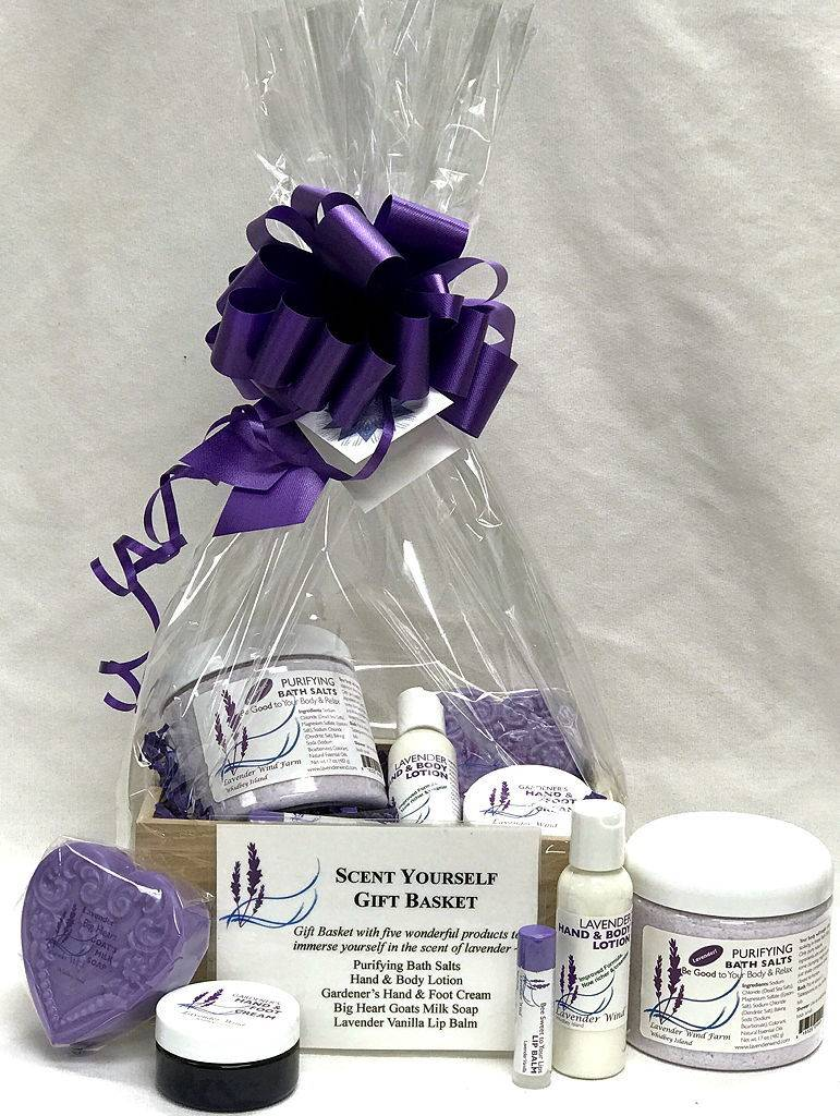 Lavender Wind Scent Yourself Box Gift Set