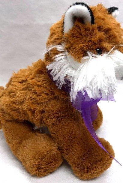 "Stuffed Fox, ""Roxy"", 8"""