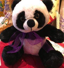 "Lavender Wind Stuffed Panda, ""PanPan"", 8"""