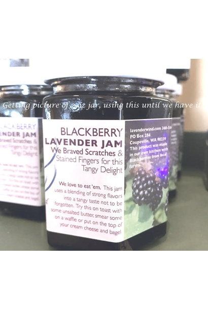 Blackberry Lavender Jam 2 oz.