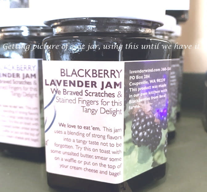 Blackberry Lavender Jam 2 oz.-1