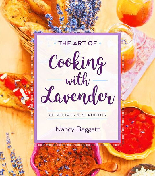 Book, The Art of Cooking with Lavender by Nancy Baggett-1