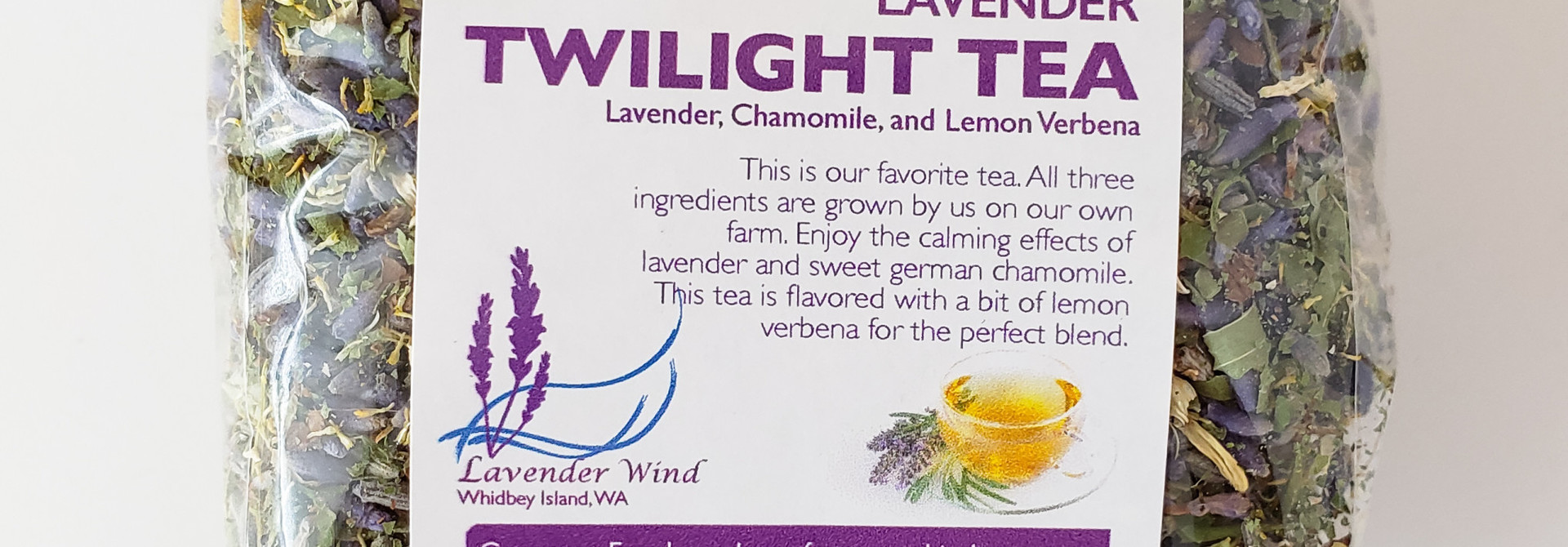 Lavender Twilight Tea - Bag 1.3 oz.
