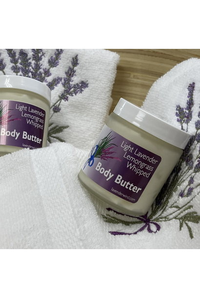 Lavender Lemon Whipped Body Butter