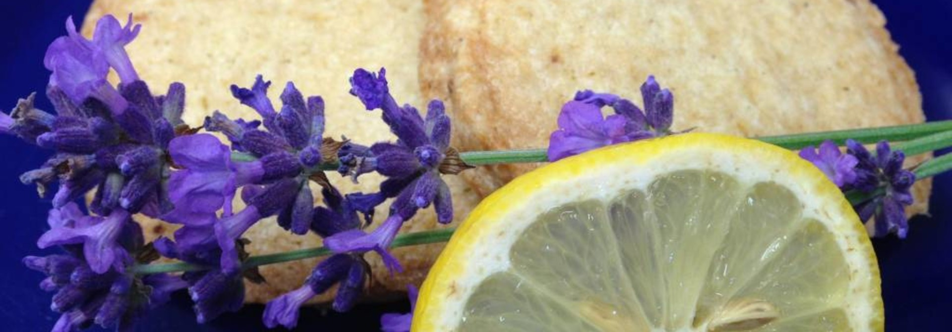 Lemon Lavender Shortbread FRESH