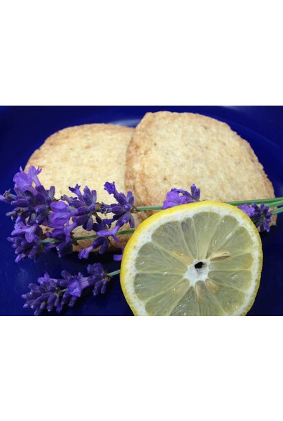 Lemon Lavender Shortbread FRESH