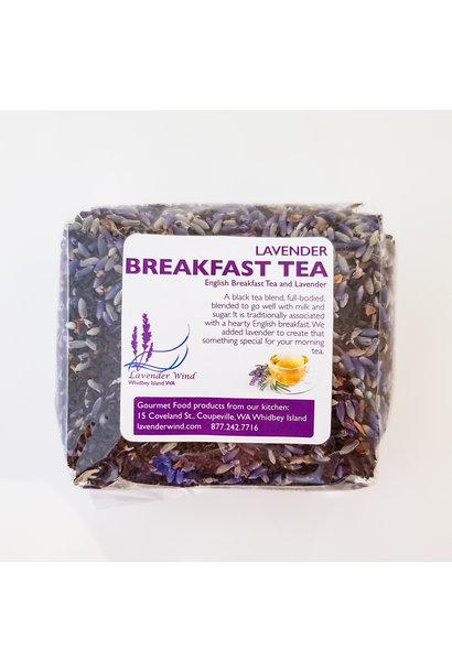 Lavender Breakfast Tea - Bulk 3 oz.