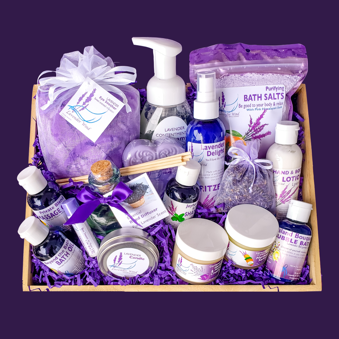 Pampering Lavender Gift Set-1