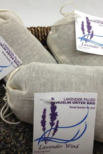 Muslin Lavender Dryer Bag