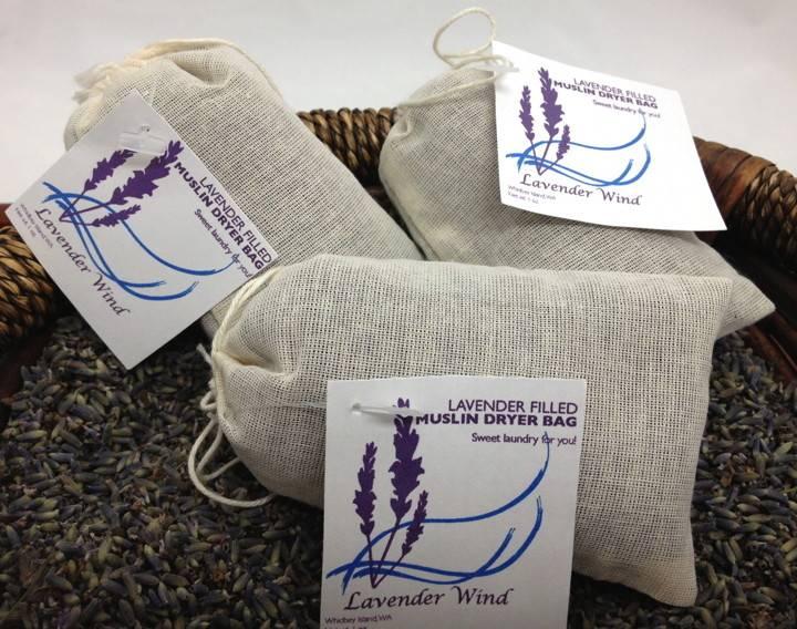 Muslin Lavender Dryer Bag-1