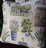 """Provence Decor/MDistributions French Tapestry Pillow 18"""" x 18"""""""