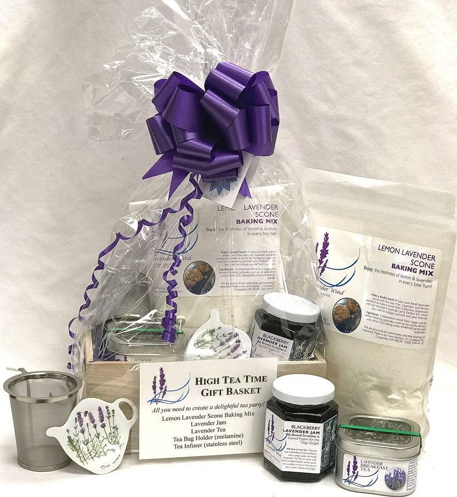 Lavender Wind High Tea Time Gift Set