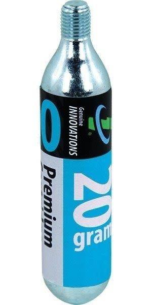 Genuine Innovations 20g threaded CO2 Cartridge (multiple brands)