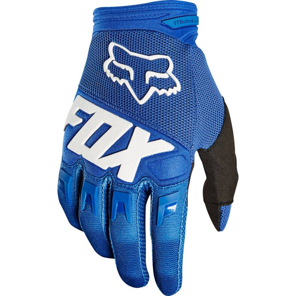 Fox 2019 Fox Dirtpaw Gloves (Blue)