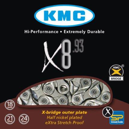 KMC KMC 8spd Chain ( X8.93)