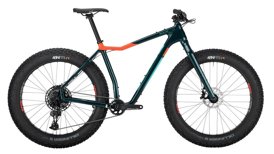 Salsa Salsa 2020 Mukluk NX Eagle Carbon Dark Green Medium
