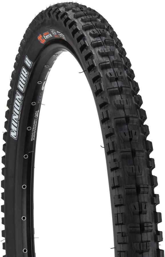 "Maxxis Maxxis Minion DHR II Tire (27.5""), DD, 3C Maxx Grip, 2.4"" (Wide Trail)"