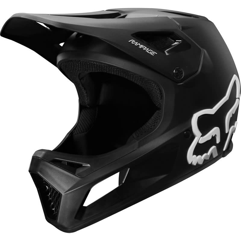 Fox Fox Rampage Helmet (Blk/Blk) Med