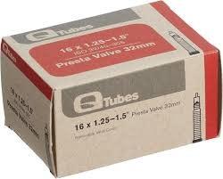"""Q-Tubes Tube 16"""" x 1.25-1.5"""" Schrader Valve Tube"""