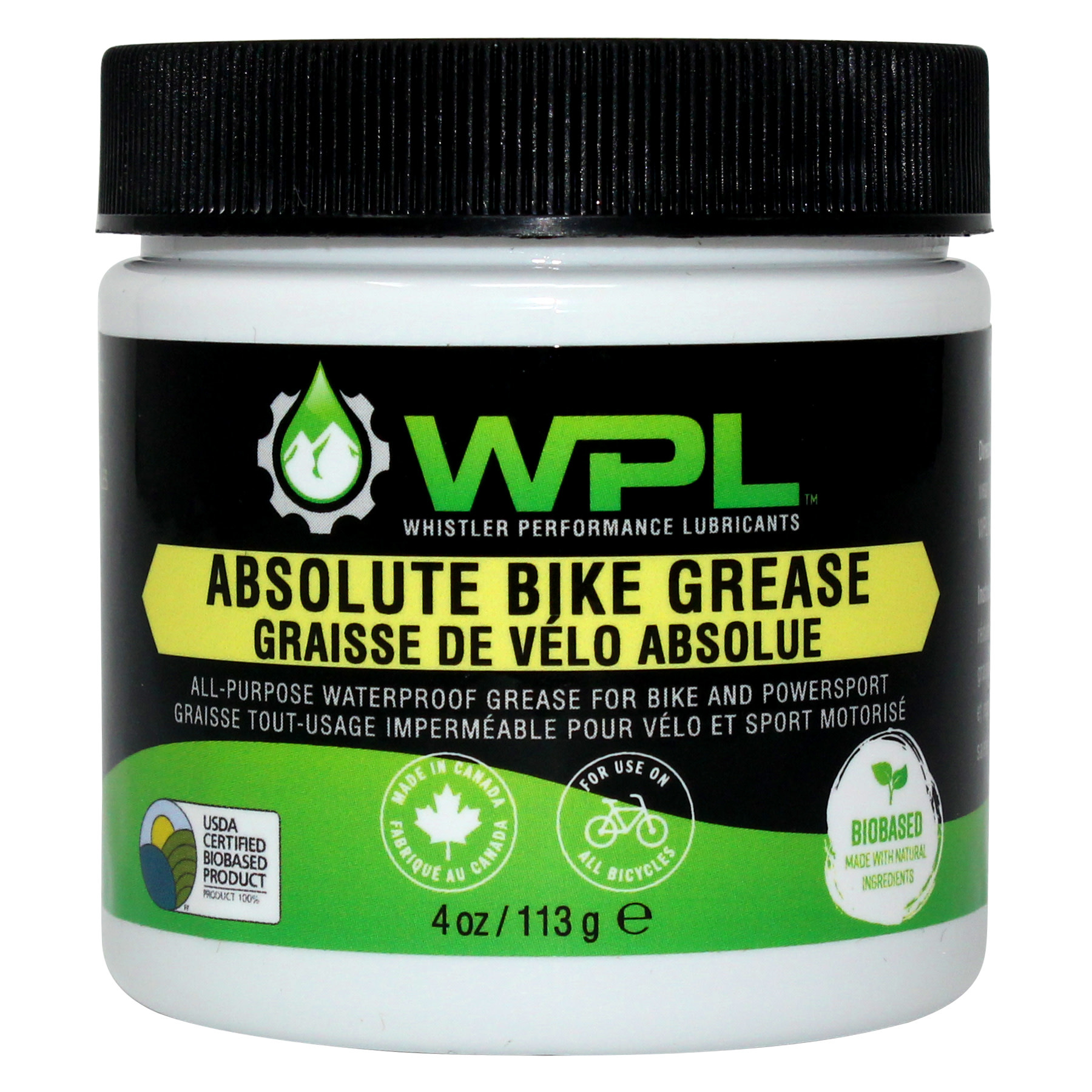 WPL WPL Absolute Bike Grease (4oz)