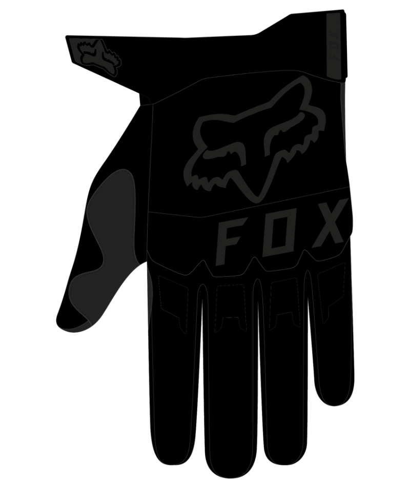 Fox Fox Dirtpaw Glove (Black)