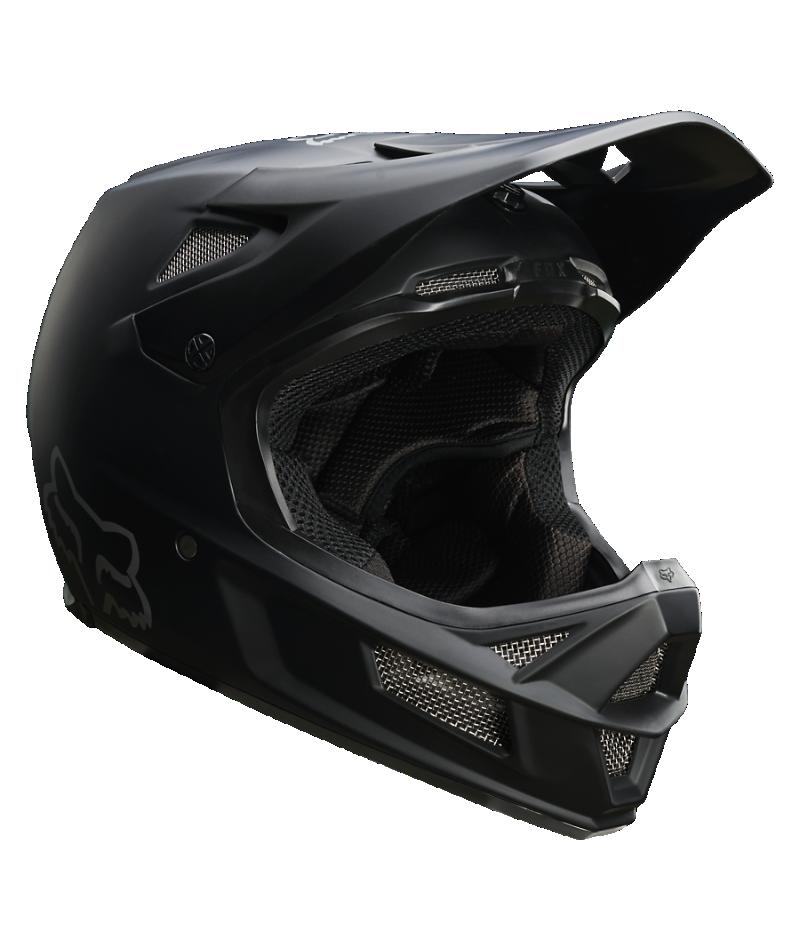 Fox Fox Rampage Comp Helmet (Matte Blk) Large