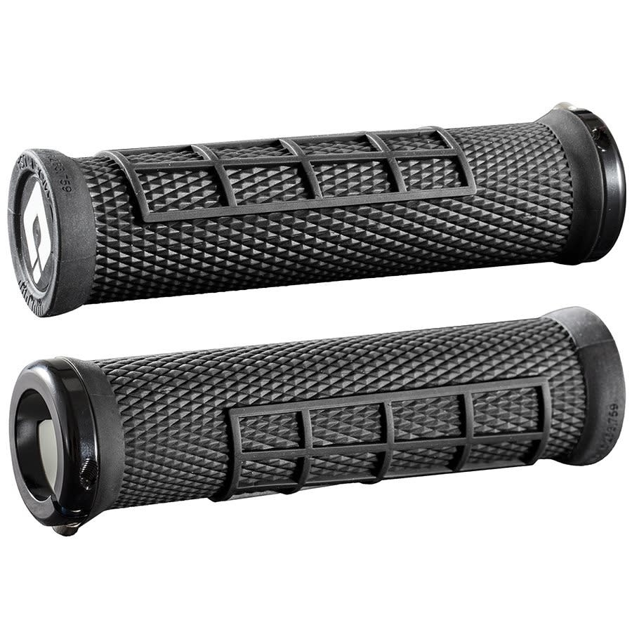 ODI ODI Elite Series Flow Lock-on Grips Black