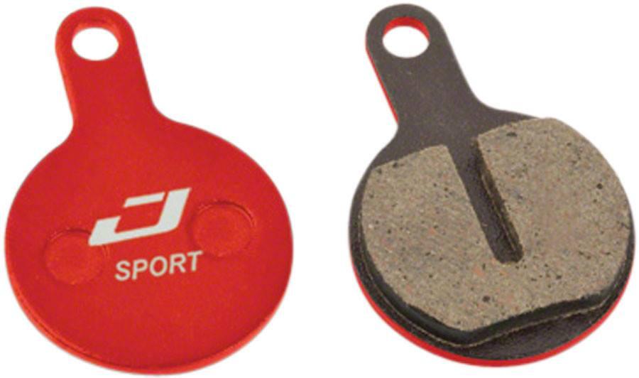 Jagwire Jagwire, Mountain Sport, Disc brake pads, Semi-metallic, Tektro Lyra, IOX