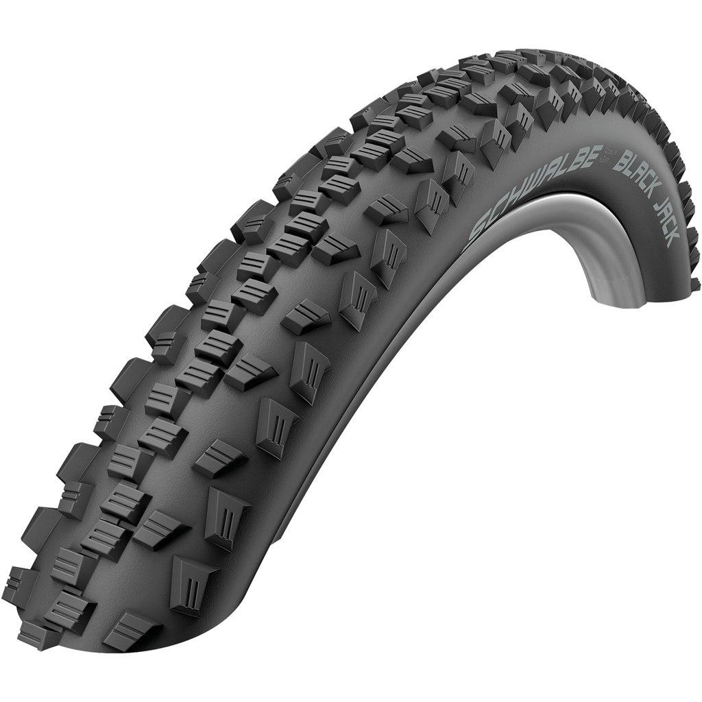 Schwalbe Schwalbe Black Jack Tire 16 x 1.90 (47-305) Black K-Guard Wire