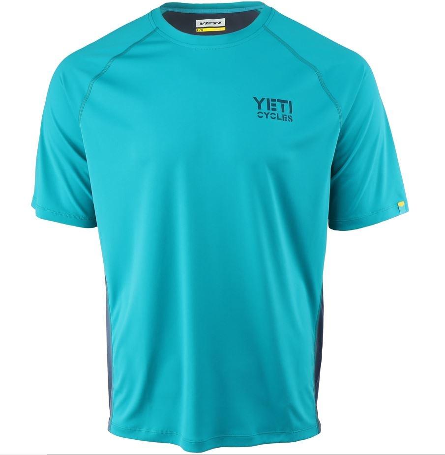 Yeti Cycles Yeti Tolland Short Sleeve Jersey Turquoise
