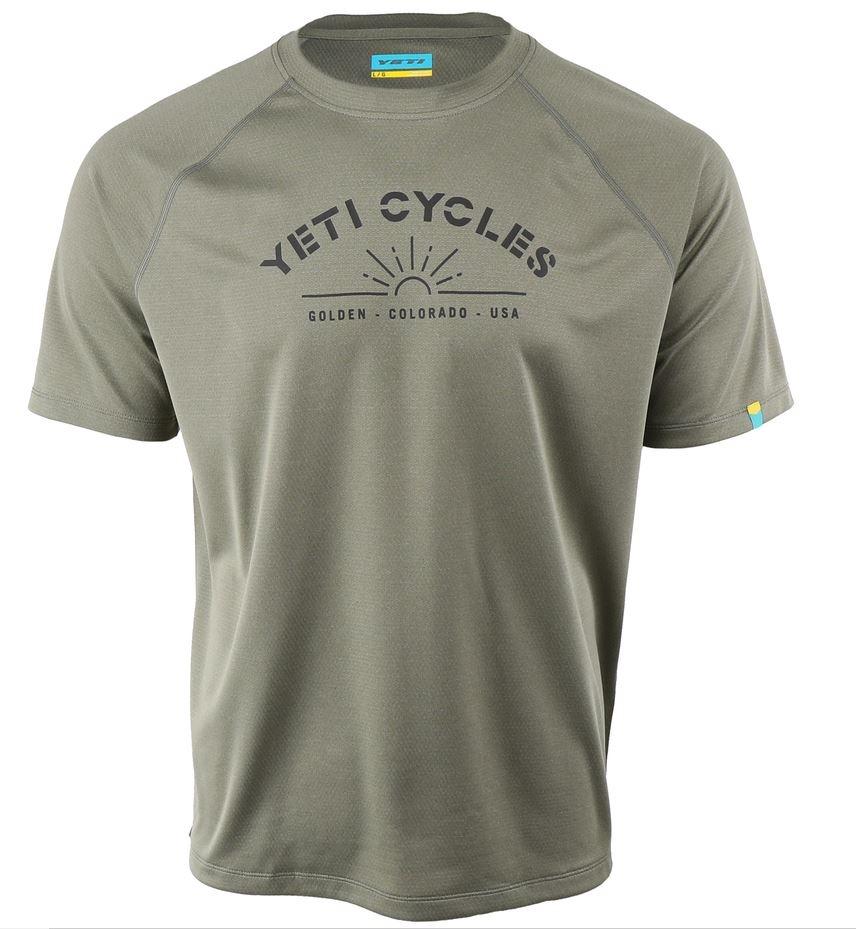 Yeti Cycles Apex Short Sleeve Jersey Moss