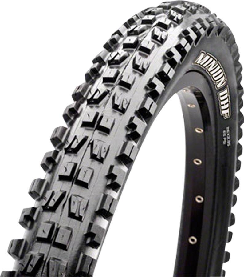 Maxxis Maxxis Minion DHF Tire - 26 x 2.3, Tubeless, Folding, Black, Dual, EXO