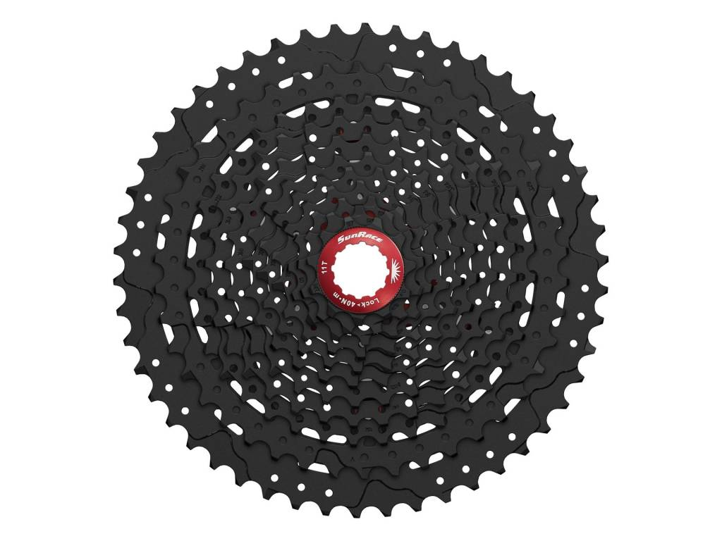 SunRace Sunrace 11spd Cassette (CS-MX80) - 11 to 50T, Black