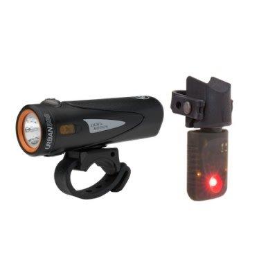Light & Motion Light and Motion Lights - Combo, Urban 500 Onyx + Vya TL