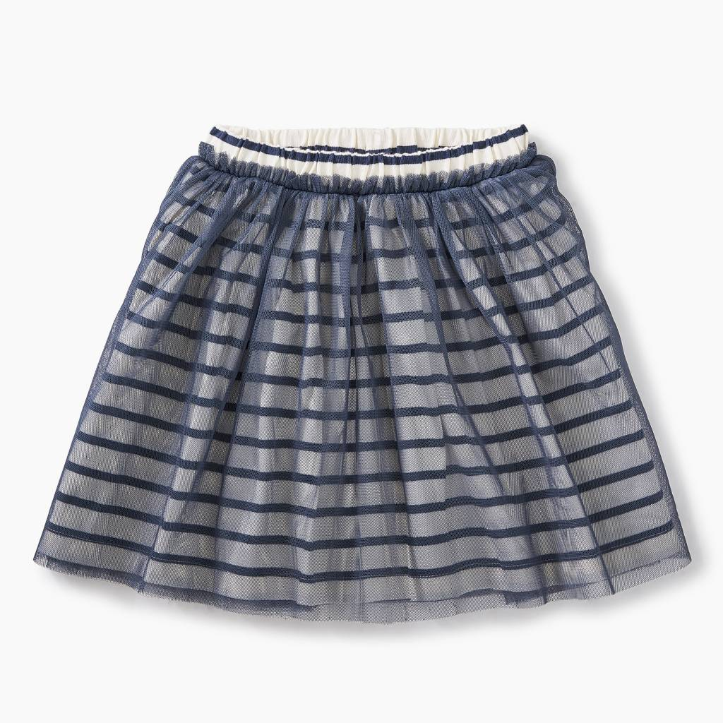 Tea Collection Striped Tulle Twirl Skirt