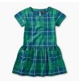 Tea Collection Tartan Pocket Dress