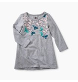 Tea Collection Blossoms Graphic Baby Dress