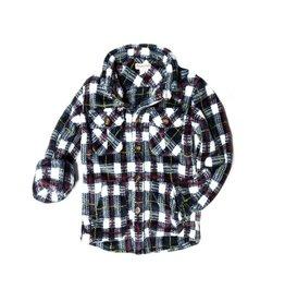 Appaman Plaid Snow Fleece Shirt