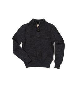 Appaman Mock Neck Sweater - Charcoal